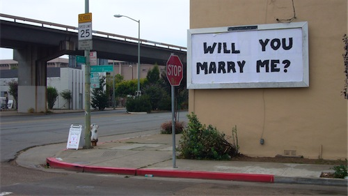 Will You Marry Me (from street)