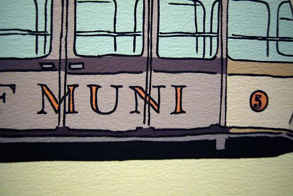 Tramway detail