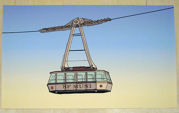SF MUNI Aerial Tramway | Print