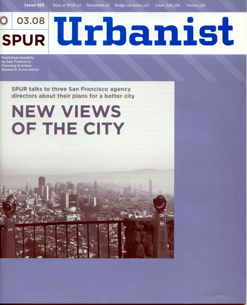 Postcards From Our Awesome Future in SPUR's Urbanist Magazine