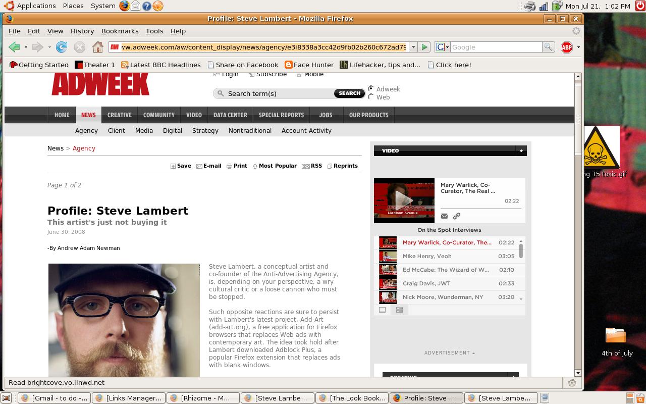 Adweek Profile