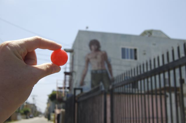 Red Ball Visits Venice, CA