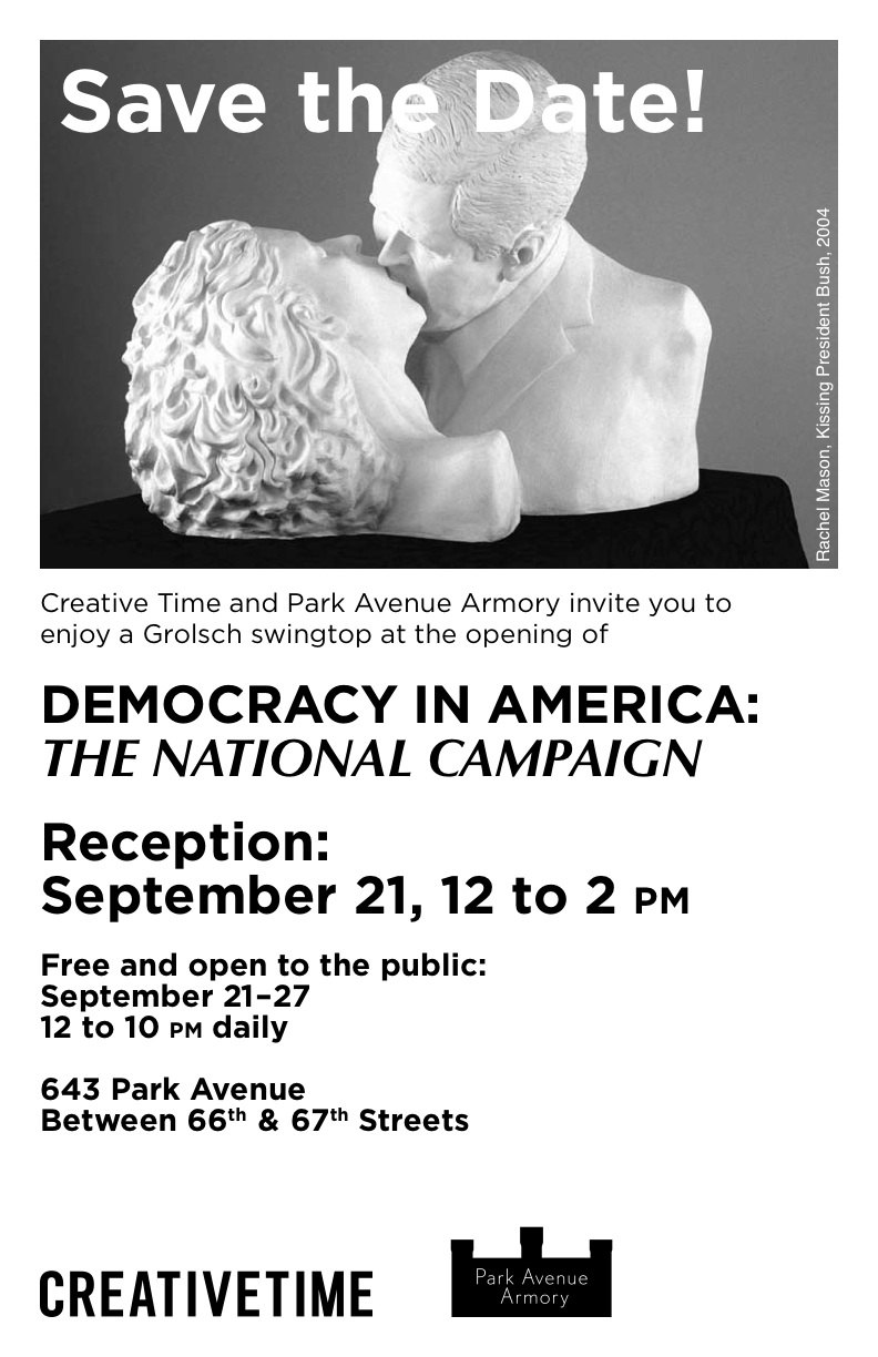 Save the date for Democracy In America: The National Campaign