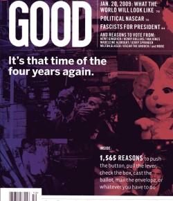 Add-Art in Good Magazine