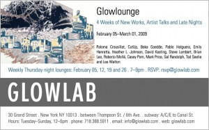 Glowlounge Flyer