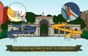 union square public waterslides