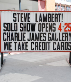 4/25 – Solo Show at Charlie James Gallery Los Angeles