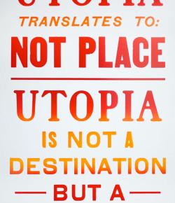Utopia Letterpress Prints