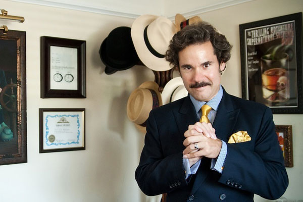 Paul F. Tompkins at home