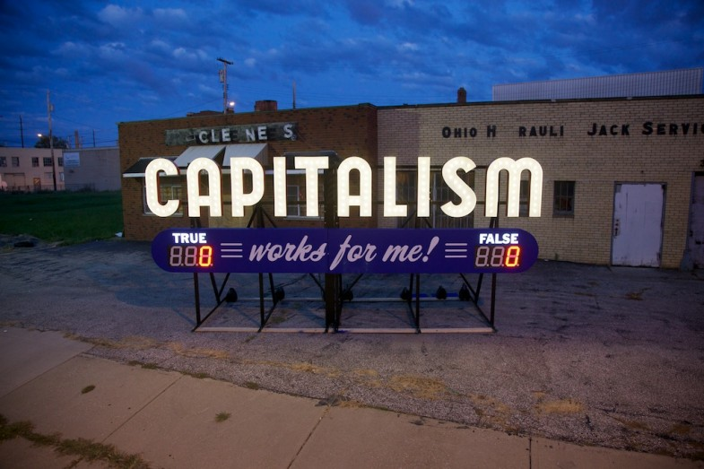 Capitalism Works For Me! True/False is touring Cleveland photo