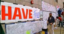Improving OccupyBoston Signs with Josh Luke