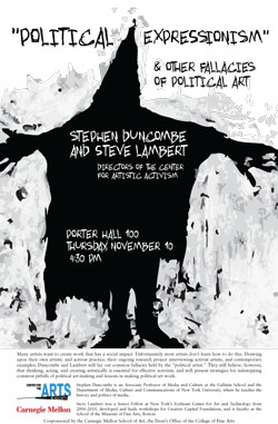 Steve Lambert Political Expressionism and Other Fallacies of Political Art   photo