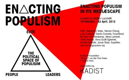 Enacting Populism at Kadist