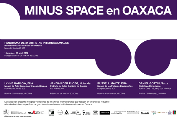 Minus Space in Oaxaca