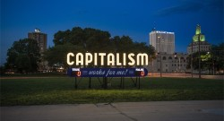 What do people say about capitalism in Cedar Rapids, Iowa?