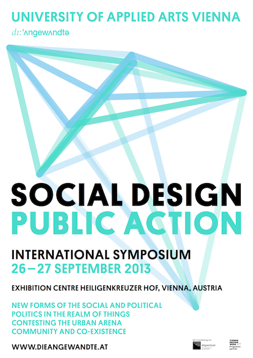Steve Lambert Speaking: Social Design Public Action Symposium   Vienna photo