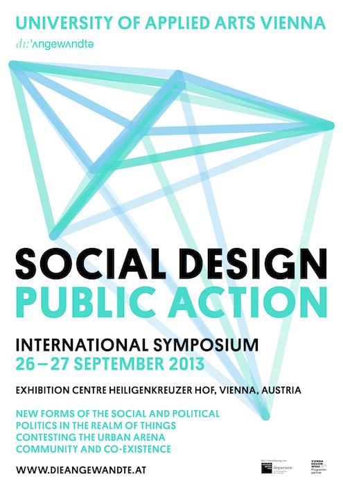 Speaking: Social Design Public Action Symposium – Vienna