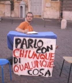 Italian version of I Will Talk with Anyone