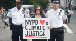 Photo Series: NYPD at People's Climate March