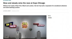 The Art Newspaper › Slow and steady wins the race at Expo Chicago
