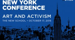 Speaking at Humanity in Action NY Conference on Art and Activism