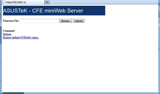 ASUS miniweb server