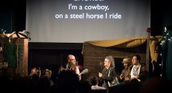 Performance at Talkies, SF