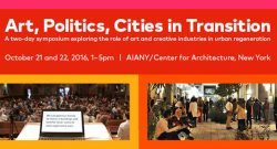 Art, Politics, and Cities in Transition