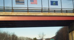 Thin Blue Line Flag, American Flag. Yes, and…