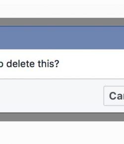 Auto-delete social media history