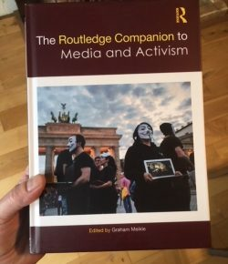 Chapter in Routledge Companion to Media and Activism