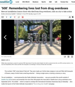 '508': Remembering lives lost from drug overdoses in Seattle